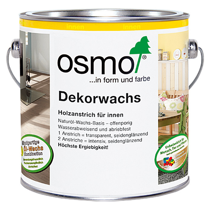 osmo dekorwachs intensiv schneewei 750 ml bauhaus. Black Bedroom Furniture Sets. Home Design Ideas