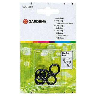 Gardena O-ring (Diameter: 9 mm, 5 stk.)
