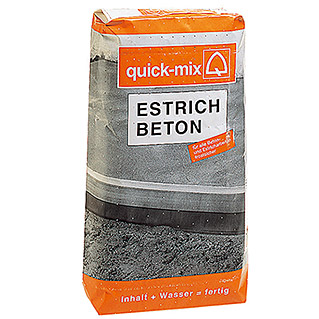 Quick-Mix Estrichbeton (25 kg, Chromatarm)