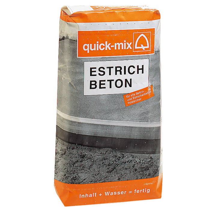 quick mix estrichbeton 25 kg chromatarm bauhaus. Black Bedroom Furniture Sets. Home Design Ideas
