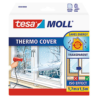 Tesa MOLL Fensterisolierfolie Thermo Cover (1,7 x 1,5 m)