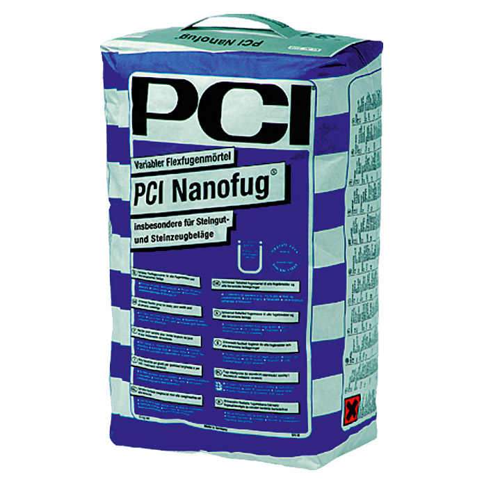 NANOFUG    FLEXFUGE-VARIABEL       15kg ANTHRAZIT