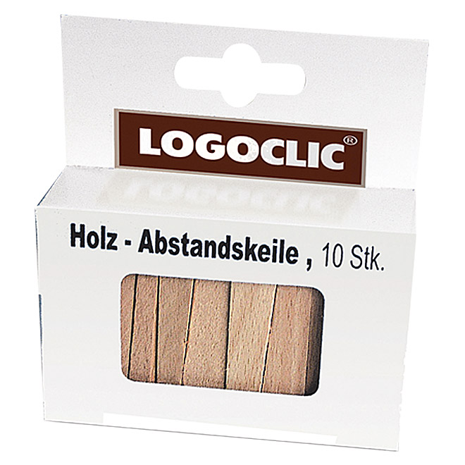 LOGOCLIC Abstandskeile