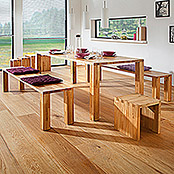 Exclusivholz Aspen Tablero de mesa (Roble, 100 x 70 x 3,2 cm)