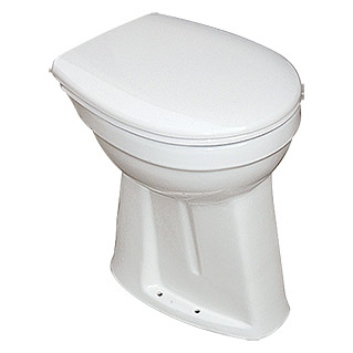 Camargue Pack de WC Plus 100 (Con borde de descarga, Salida WC: Vertical, Blanco)