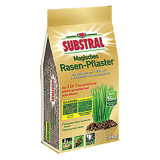 Substral Magisches Rasen-Pflaster 3 in 1 (3,6 kg)