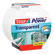 Tesa Extra Power Reparaturband (Transparent, 10 m x 50 mm)