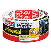 EXTRA POWER UNIVERS.25m:50mm WEISS      TESA