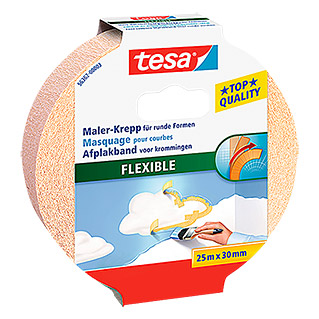 Tesa Maler-Krepp Flexible (25 m x 30 mm)