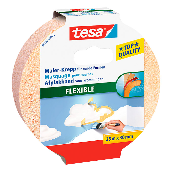 MALER     KREPP     FLEXIBLE  25m:30mm  TESA