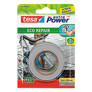 Tesa extra Power Reparaturklebeband ECO REPAIR (Grau, 5 m x 38 mm)