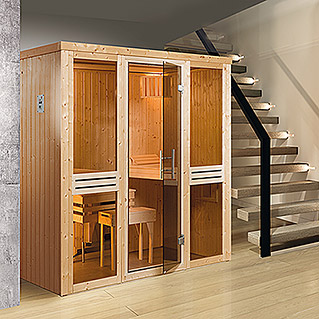 sauna bausatz mit ofen yo94 hitoiro. Black Bedroom Furniture Sets. Home Design Ideas