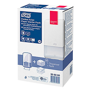 Tork Elevation Toilettenpapier-Spender  Starter-Set T3 (15,9 cm)
