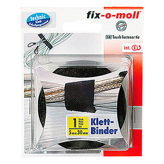 Fix-o-moll Klettkabelbinder Technic