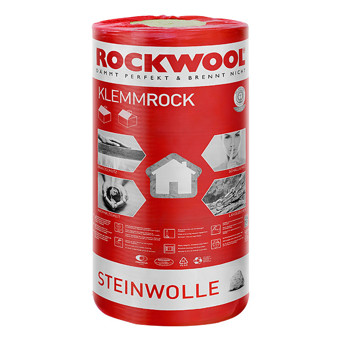 rockwool steinwolle klemmrock 035 mm x mm x 120 mm bauhaus. Black Bedroom Furniture Sets. Home Design Ideas