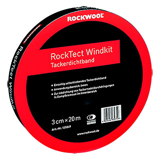 Rockwool RockTect Tackerdichtband Windkit