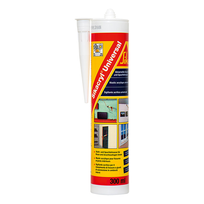 Sika Acryl-Dichtmasse Universal (Weiß)