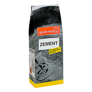 Quick-Mix Zement (5 kg, Chromatarm)