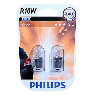 Philips Vision Signal- & Innenbeleuchtung (R10W, 2 Stk.)