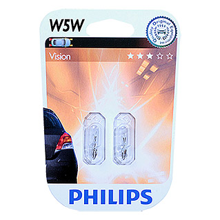 Philips Vision Signal- & Innenbeleuchtung (W5W, 2 Stk.)