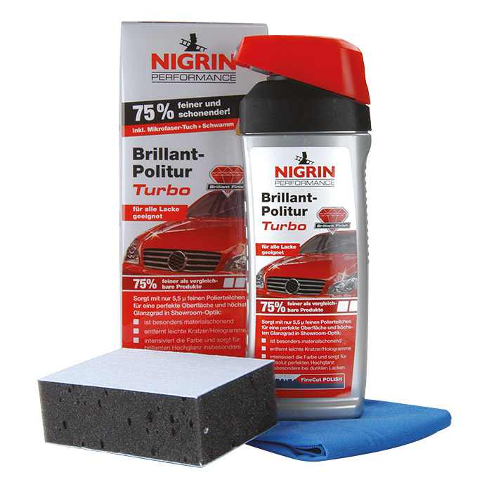 Nigrin Performance Politur-Set Turbo (500 ml)