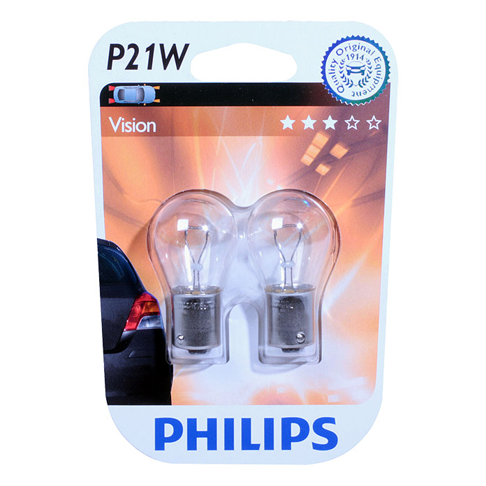 PHILIPS KUGELLAMPE P21W 12V ORIGINAL /