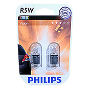 PHILIPS KUGELLAMPE R5W 12V ORIGINAL /