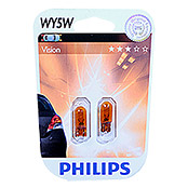 LAMPE     PHILIPS VISION WY5W 2ER BLISTER