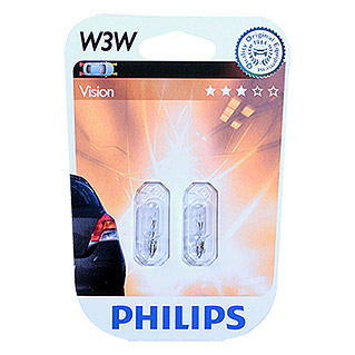 Philips Vision Signal- & Innenbeleuchtung (W3W, 2 Stk.)