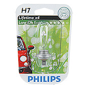 PHILIPS H7 LONG LIFEECO VISION 1ER BLISTER