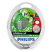 LAMPE     PHILIPS LONG LIFE ECO VISION H7 2ER KIT