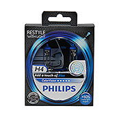 COLOR     VISION H4 BLAU      PHILIPS