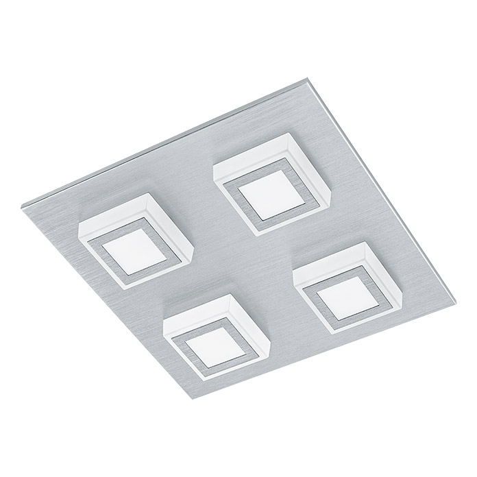 LED-WL/DL/4 MASIANO ALU-GEB/SAT  TWEENLIGHT