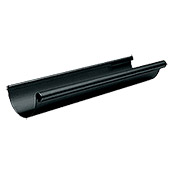 DACHRINNE NW 100 -  2,0 m RAL7016       ANTHRAZIT