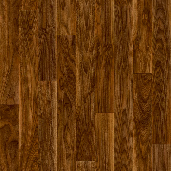 Beauflor PVC-Bodenbelag Blacktex (Black Walnut 663D)