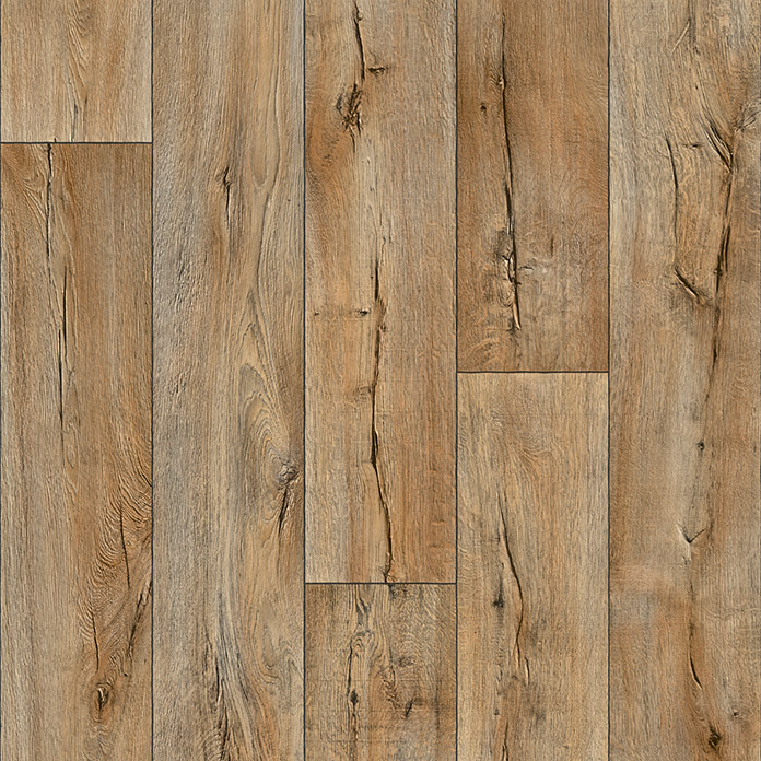 Beauflor PVC-Bodenbelag Delta (Cracked Oak 633L)