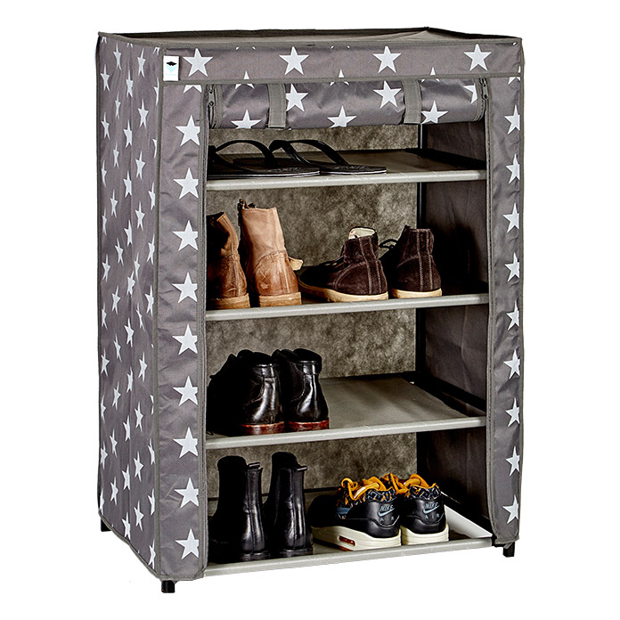 schuhschrank 60 x 40 x 83 cm passend f r bis zu 12 paar schuhe 1409 null aajd null. Black Bedroom Furniture Sets. Home Design Ideas
