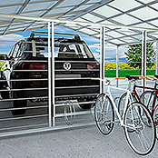 SPALIER / ENDMODUL  FÜR DOPPEL-CARPORT