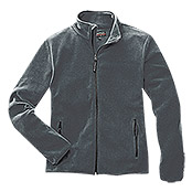FLEECE-   JACKE     GRAU      GR. XL    AKTION
