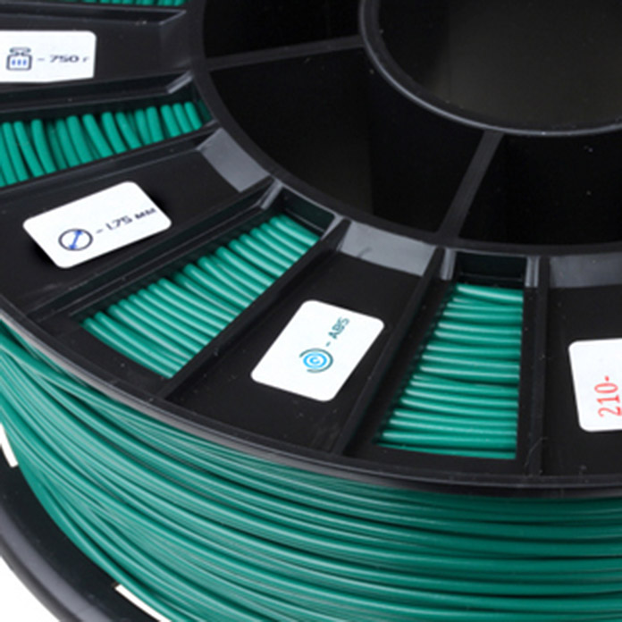 FILAMENT REC ABS 1,75mm GREEN
