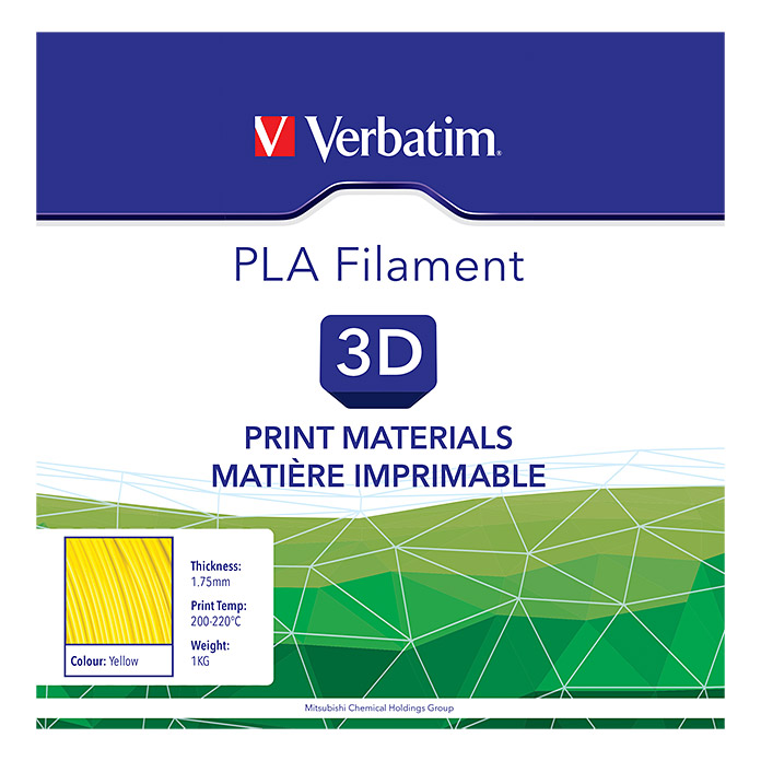 FILAMENT PLA 1,75mm YELLOW