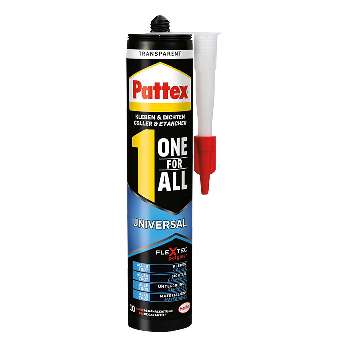Pattex Montage Kleber One for All (310 g, Transparent) | BAUHAUS