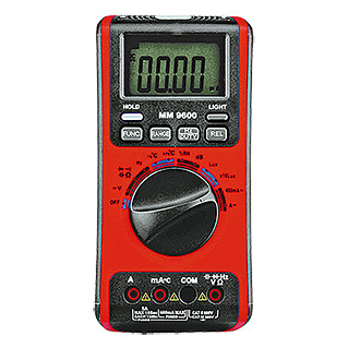 Profi Depot Digital-Multimeter MM 9600 5 in 1 (Messbereich Wechselspannung: 0,1 mV - 600 V)