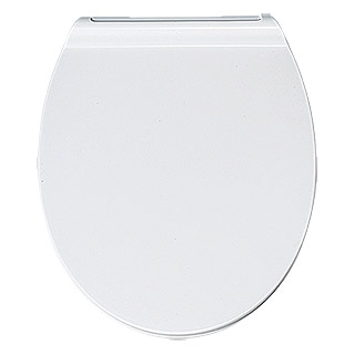 Poseidon Toiletzitting Flat (Softclose, Duroplast, Wit)