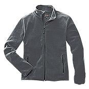 FLEECE-   JACKE     GRAU      GR. S     AKTION