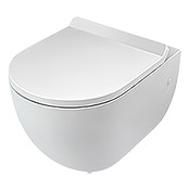 WAND WC ROM WEISS   SPUELRANDLOS TIEF CAMARGUE