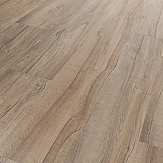 b!design Muestra Clic Nordmann Roble (190 x 200 x 3 mm, Efecto madera campestre)