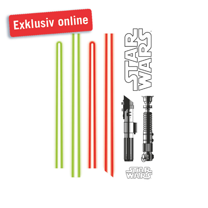 komar star wars wandtattoo light saber 50 x 70 cm bauhaus. Black Bedroom Furniture Sets. Home Design Ideas