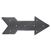 LED SCHILD  ARROW   SCHWARZ             TWEENLIGHT