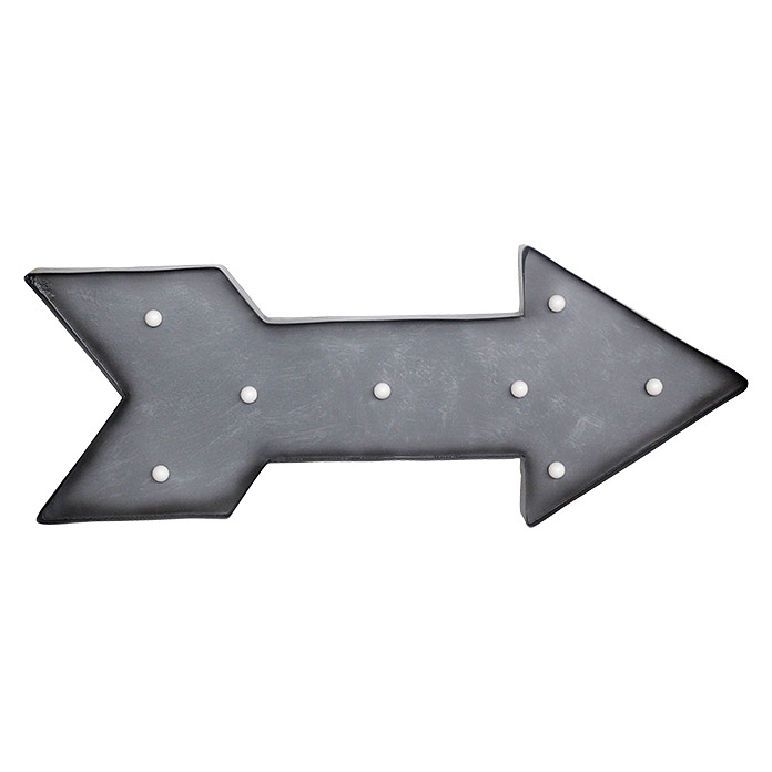 LED SCHILD  ARROW   SILBER              TWEENLIGHT